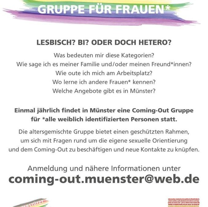 Coming Out-Gruppe Münster